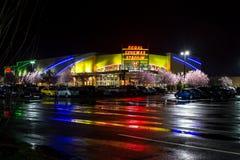 Stade majestueux 11 de cinémas à Salem, Orégon Photos libres de droits
