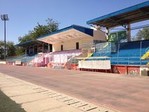 Stade national à Ne Djamena, Tchad image stock