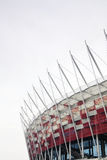 Stade national à Varsovie, Pologne Photos libres de droits