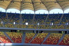 Stade national d'arène images stock