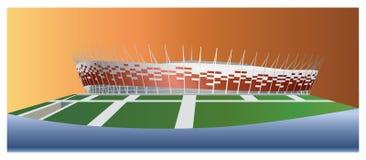Stade national Varsovie illustration stock