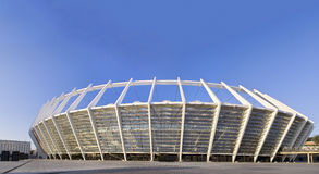 Stade olympique à Kiev, Ukraine Photographie stock libre de droits