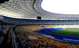 Stade olympique à Kiev, Ukraine Images libres de droits