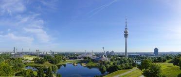 Stade olympique à Munich image libre de droits