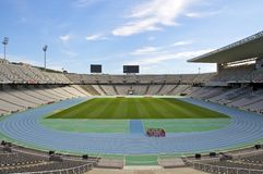 Stade olympique Barcelone Image stock