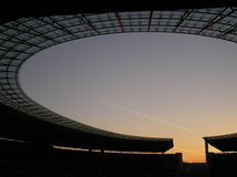 Stade olympique de Berlin Photos stock