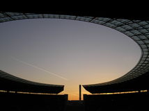 Stade olympique de Berlin Images stock