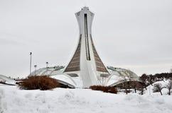Stade olympique de Montréal Photographie stock libre de droits