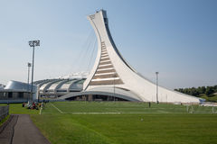 Stade olympique de Montréal Images libres de droits