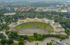 Stade olympique de Munich Photos stock