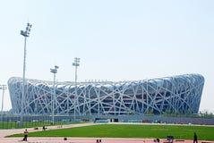 Stade olympique de Pékin Photographie stock libre de droits