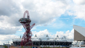 Stade olympique à Londres Image stock