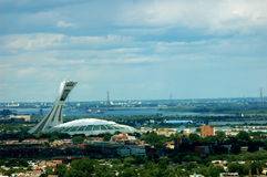 stade olympique montreal Стоковое фото RF