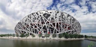 Stade olympique national de la Chine photo stock