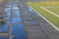 Stade sous le ciel ouvert Photos stock