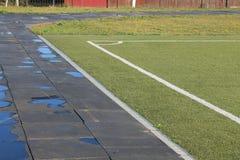 Stade sous le ciel ouvert Photo libre de droits