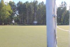 Stade sous le ciel ouvert Photos libres de droits