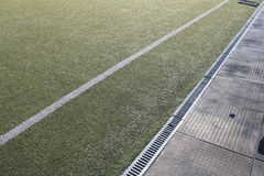 Stade sous le ciel ouvert Image stock