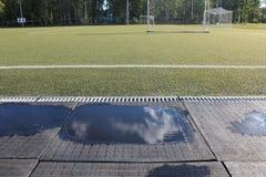 Stade sous le ciel ouvert Image libre de droits