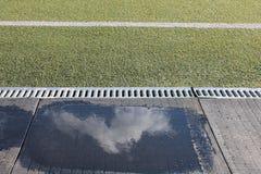 Stade sous le ciel ouvert Images libres de droits