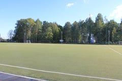 Stade sous le ciel ouvert Photo stock