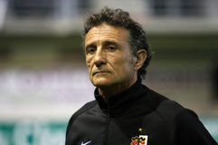 Stade Toulousain's coach Guy Noves Stock Photo