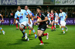 Stade Toulousain's Yannick Jauzion Royalty Free Stock Images