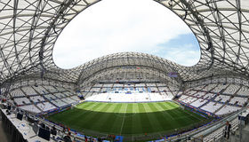Stade Velodrome in Marseille, France Stock Image