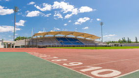 Stade vide Photographie stock