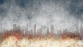 Staden är på brand