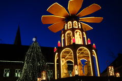 Staden av Bocholt Royaltyfri Fotografi