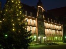 Staden av coesfeld royaltyfria foton