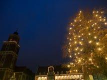 Staden av coesfeld Royaltyfri Foto