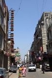 Staden av Delhi Arkivfoto