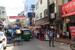 Staden av Delhi Royaltyfri Fotografi