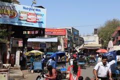 Staden av Delhi Arkivbilder