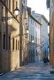 Staden av den Colle Val d'Elsaen Fotografering för Bildbyråer
