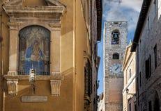 Staden av den Colle Val d'Elsaen Royaltyfri Foto