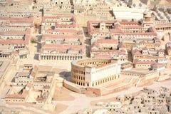 Staden av den David A modellen Royaltyfria Foton