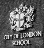 Staden av den London skolan - LONDON - STORBRITANNIEN - SEPTEMBER 19, 2016 Arkivfoton