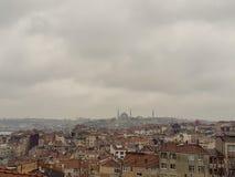 Staden av Istanbul i Turkiet arkivfoto