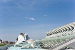 Staden av konster och vetenskap i Valencia. Royaltyfri Fotografi