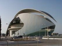Staden av konster och vetenskaper i Valencia royaltyfri foto
