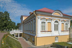 Staden av Lomonosov, Menshikov slott Royaltyfri Fotografi