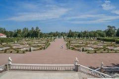 - staden av Lomonosov, Menshikov slott Royaltyfria Bilder