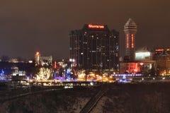 Staden av Niagara Falls, Kanada royaltyfri foto