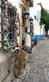 Staden av Obidos Arkivbild