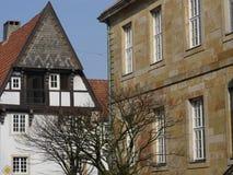 Staden av osnabrueck i Tyskland Royaltyfria Bilder