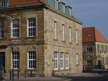 Staden av osnabrueck i Tyskland Arkivbild