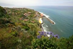 Staden av Ponta Delgada Arkivbilder